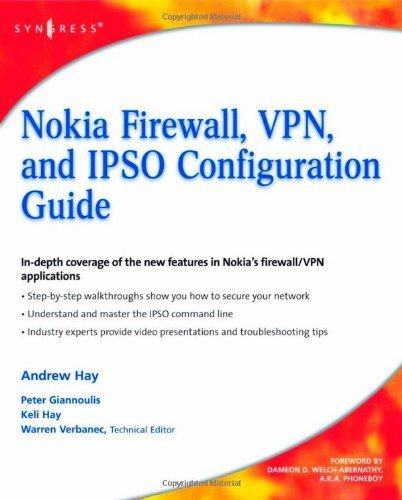 Nokia Firewall, VPN, and IPSO Configuration Guide by Andrew Hay - Mall Firewall