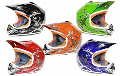 Nitro Motors MATT Helm Kinderhelm Motorradhelm Crosshelm Motocrosshelm Sport