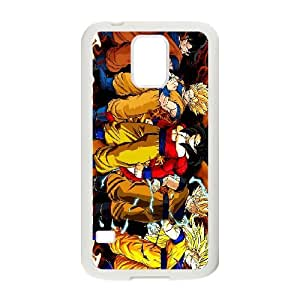 Dragon Ball Z Phone Case And One Free Tempered-Glass Screen Protector For Samsung Galaxy S5 J57493