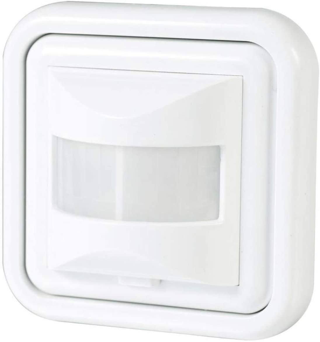 Detector Movimiento Empotrable para Led. Sensor de Presencia. Medidas Standard compatibles Caja Pared.