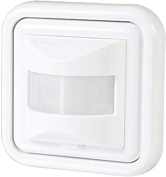 Detector Movimiento Empotrable para Led. Sensor de Presencia. Medidas Standard compatibles Caja Pared.: Amazon.es: Iluminación