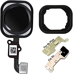 Home Button Replacement for iPhone 6S 6S Plus,GVKVGIH Home Button Main Key Flex Cable for iPhone 6S 6S Plus
