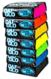 Sticky Bumps Cool-Cold Day Glo Surfboard Wax Assorted 7 Pack