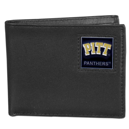 NCAA Pittsburgh Panthers Leather Bi-fold Wallet