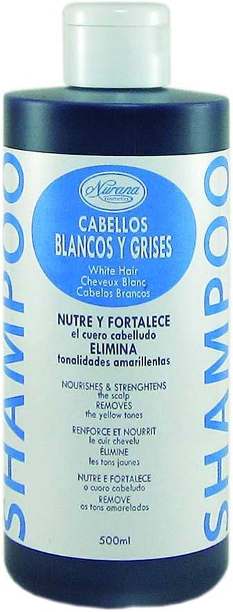 Nurana - Champú (Cabellos Blancos y Canosos) - 500ml.