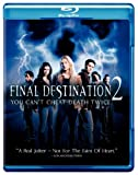 Final Destination 2 on Blu-ray cover.