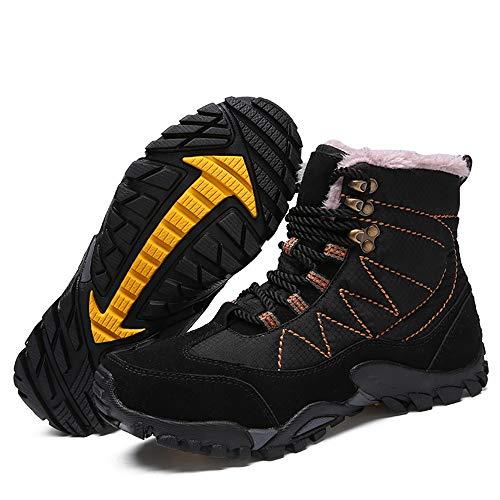 Eu Uomo Black 5 Nero shoes Xiazhi warm 39 Stivali 8qCCUg