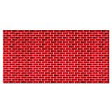 Fadeless Bulletin Board Art Paper, Tu-Tone Brick, 48'' x 50', 1 Roll