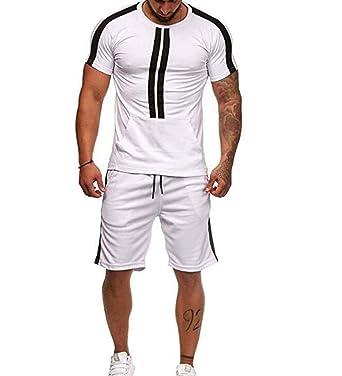 Conjunto de chándal para Hombre, Hombres, Camiseta de Manga Corta ...