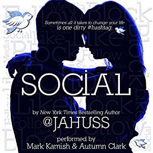 Social: The Social Media Series, Books 1-3 Audiobook