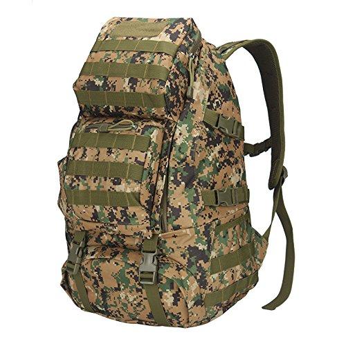 JIALU Große Speicherkapazität Speicherkapazität Speicherkapazität Reisen im Freien Armee Tarnung Taktische Rucksack B07FPP2X3G Trekkingruckscke Verwendet in der Haltbarkeit c0d9e2