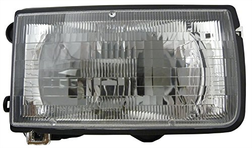 Isuzu Rodeo Headlamp - Isuzu Rodeo 91-97 Right Passenger Side Rh Headlight Headlamp New Lens & Housing
