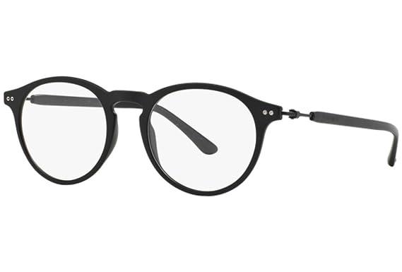 b8cb70b57d GIORGIO ARMANI AR 7040 Eyeglasses 5042 Matte Black 48-19-145  Amazon ...