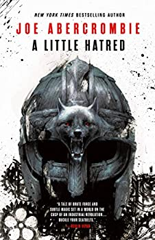 A Little Hatred by Joe Abercrombie science fiction and fantasy book and audiobook reviews