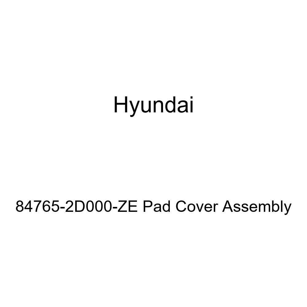 Genuine Hyundai 84765-2D000-ZE Pad Cover Assembly