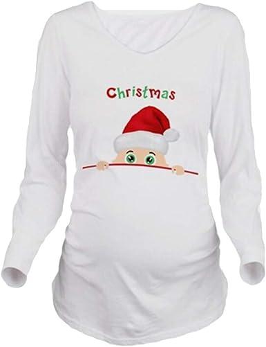 Embarazo De Navidad Camiseta Embarazada Camisetas Embarazo ...