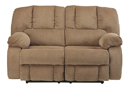 Mocha Reclining Loveseat (Benchcraft 3860286 the Roan Reclining Loveseat, Mocha)