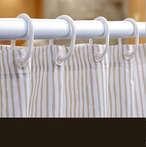 LQQ Mold Mildew Shower Curtain- Mildew Waterproof Shower Curtain, Thickened Set Free Punch, Toilet partition Curtain, Bathroom Curtain. -Cartoon Bathroom Curtain by LQQ (Image #3)