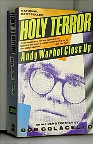 Andy Warhol Close Up Holy Terror