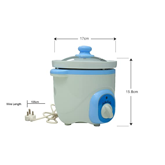 Buy Safe-O-Kid Feeding Essential Large Size Electric Slow Food ...