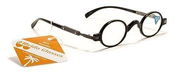 495b5fb771 Amazon.com  Mens Womens Round Reading Retro Glasses + ...