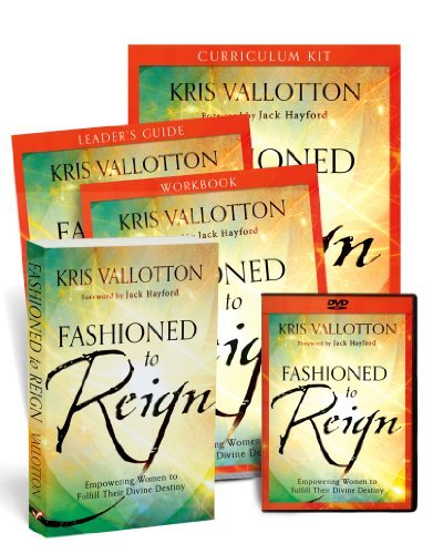 Read Online By Kris Vallotton Fashioned to Reign Curriculum Kit: Empowering Women to Fulfill Their Divine Destiny (Box Csm PC) [Hardcover] pdf epub