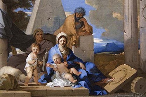 Buyenlarge 0-587-60450-L-C4466 ''The Holy Family'' Gallery Wrapped Canvas Print, 44'' x 66'' by Buyenlarge
