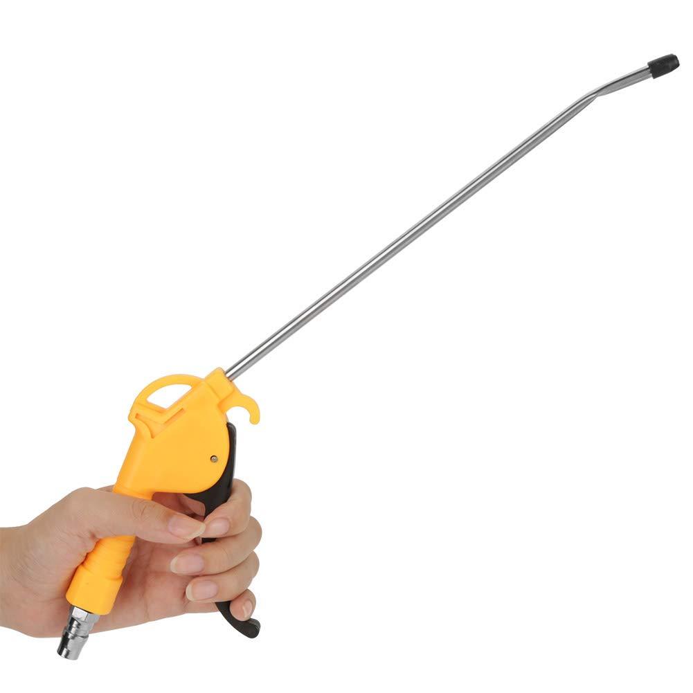 Pistola de aire comprimido pistola de aire comprimido aleaci/ón de aluminio neum/ática para limpiar lugares estrechos y altos donde las manos no pueden alcanzar