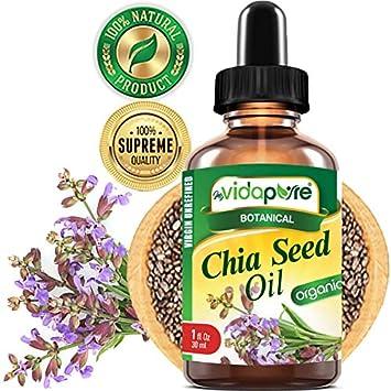 Amazon.com: myVidaPure 100% pura semilla de chia orgánica de ...