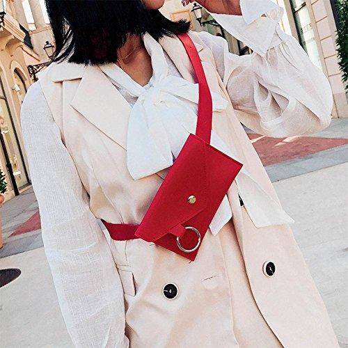 Cuir Femme Domybest Taille Red Lot épaule Coffre Décontracté Sacoche Tour Messenger à de Main PU Sac dEqqZYS