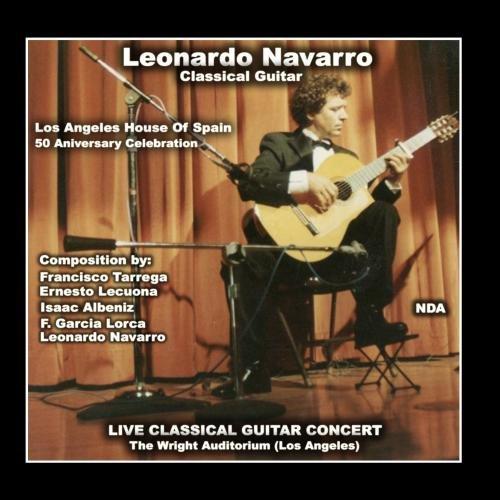 Leonardo Navarro Classical Guitar - Navarro Classical Guitars