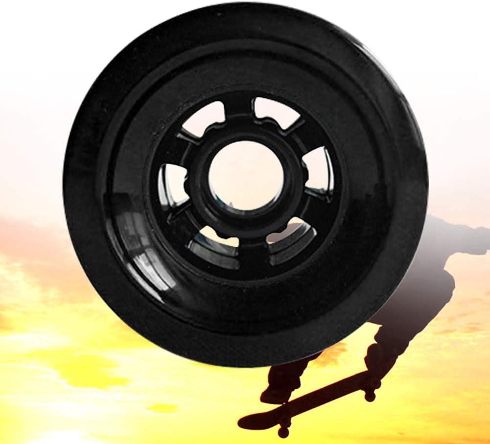 BEYST Electric Skateboard Wheel,Longboard Wheels Road Racing Electric Skateboard Wheels 83mm 78A PE Hub,for Beginners