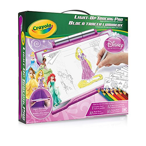 Crayola Light Up Tracing Pad Princess
