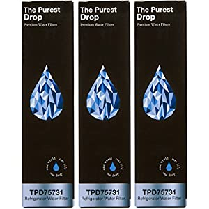 3-Pack The Purest Drop: Samsung DA29-00020B Compatible Refrigerator Water Filter – WQA Gold Seal – Samsung & Kenmore