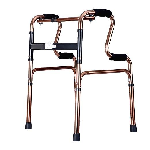 ZXL Andador Plegable de Aluminio para Personas con Movilidad ...