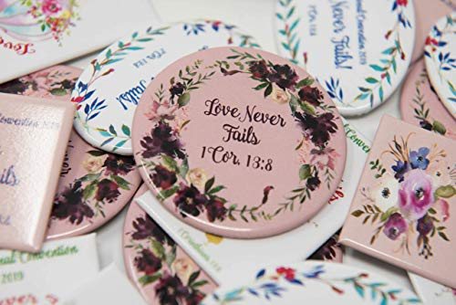HOT SELLER ENGLISH MIX - 50 Lapel Buttons Pins - Love Never Fails  International Convention of Jehovah's Witnesses 2019, Jw gifts, Jw shop,  souvenirs,