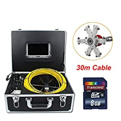 QUARKJK Pipe Inspection Video Camera Sew...