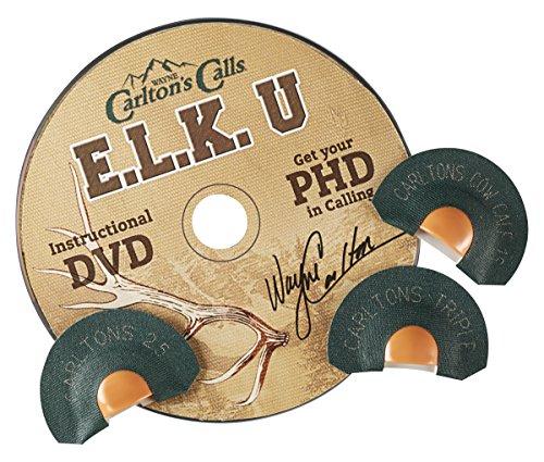 Hunters Specialties Carlton's Calls E.L.K. University PHD Tone Trough Diaphragm Combo
