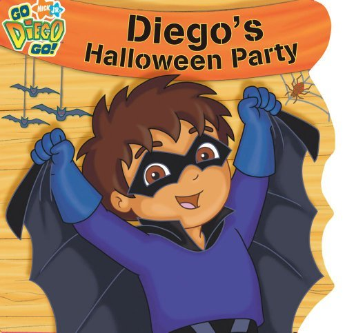 Diego's Halloween Party (Nick Jr. Go Diego Go! (Simon Spotlight Unnumbered)) ()
