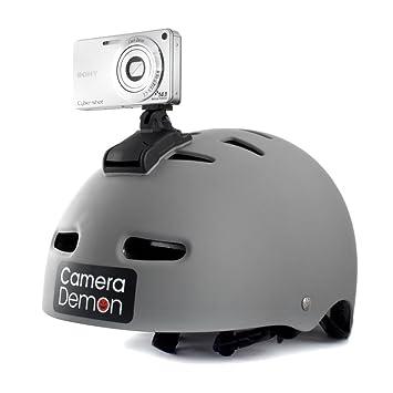 Camera Demon - Universal Helmet Camera Mount, Fits Any: Amazon.co ...