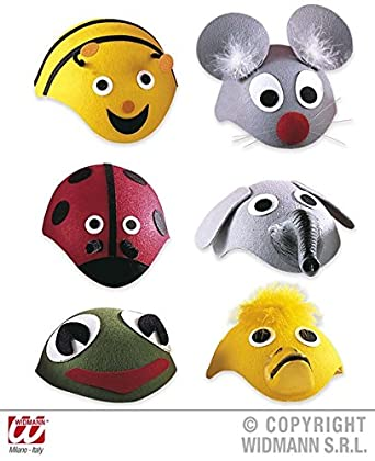huge selection of 28312 01db2 1 LITTLE ANIMAL CAP Hat Accessory for Creature Nature Zoo Farm Fancy Dress   Amazon.co.uk  Clothing