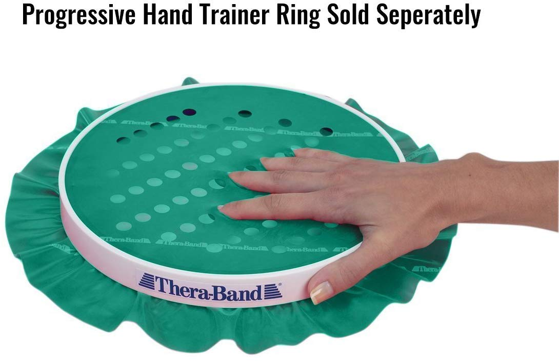 TheraBand Progressive Hand Trainer, Wrist, Forearm, and Hand Strengthener for Rock Climbing, Guitar and Piano Players, Post Surgery Rehab and Therapy, ...