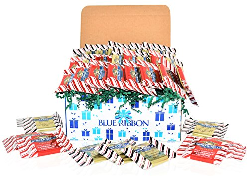 Christmas Ghirardelli Chocolate Variety Gift Basket - 27 Pieces - Ghirardelli Peppermint Brownie and Dark Chocolate Squares - Christmas Gift Pack for Family, Friends, Her, Him and more