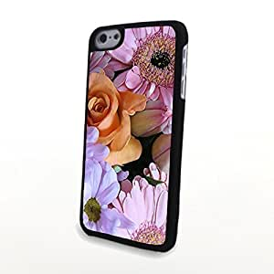 linJUN FENGGeneric PC Phone Cases Colorful Beautiful Charming Flowers Matte Pattern fit for Cute Fresh iphone 6 4.7 inch Case