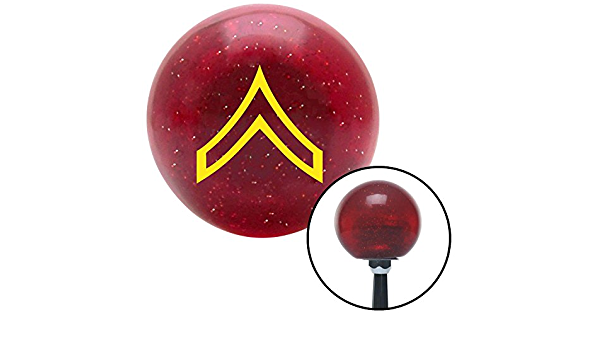 Red Wheel On Fire American Shifter 200992 Red Metal Flake Shift Knob with M16 x 1.5 Insert