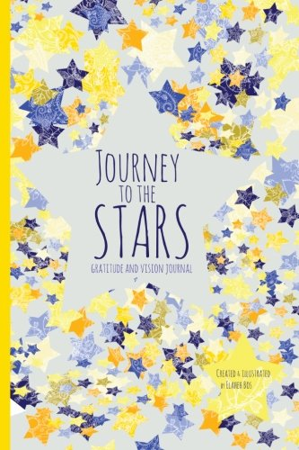 Journey stars Gratitude Vision Journal product image