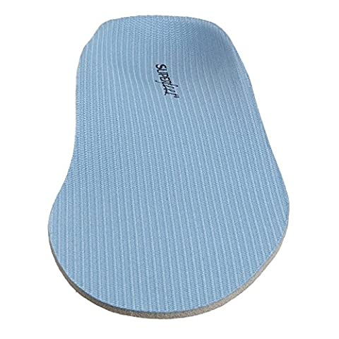 SUPERFEET 2401 Adult's All Purpose Insole Blue Women's 6.5-8 / Men's 5.5-7 (Superfeet Blue Premium)