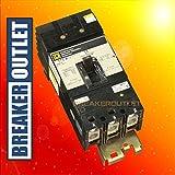 Refurbished Square D KA36125 Circuit Breaker 3 Pole PowerPact 125A 600V 25kA Type KA