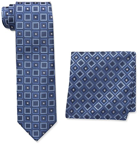 pierre-cardin-mens-geo-tie-and-pocket-square-black-blue-one-size