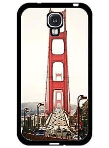 BESTER Hard Back Case for Samsung Galaxy S4 I9500 - Amazing Golden Gate Bridge Print
